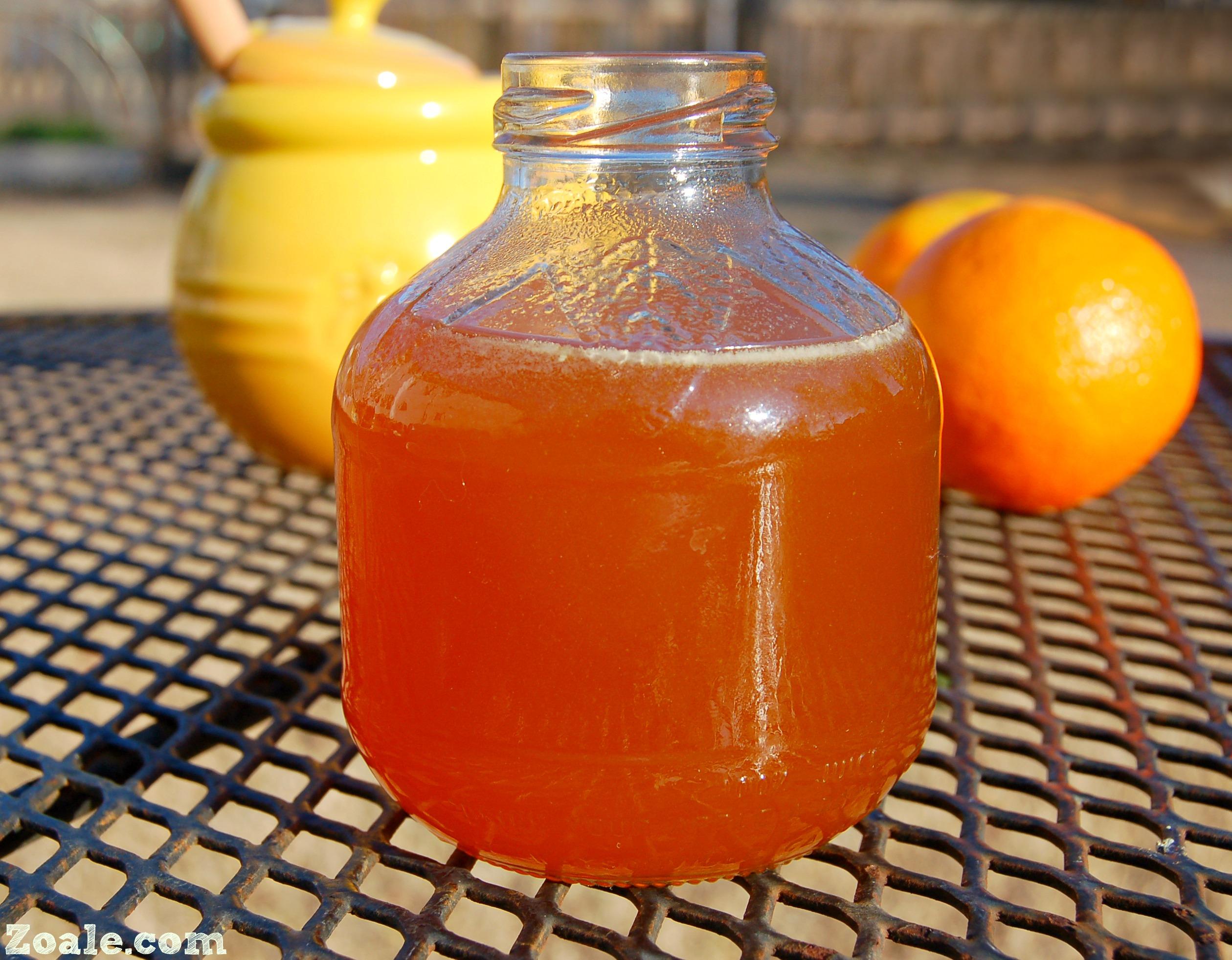 Orange Honey Syrup