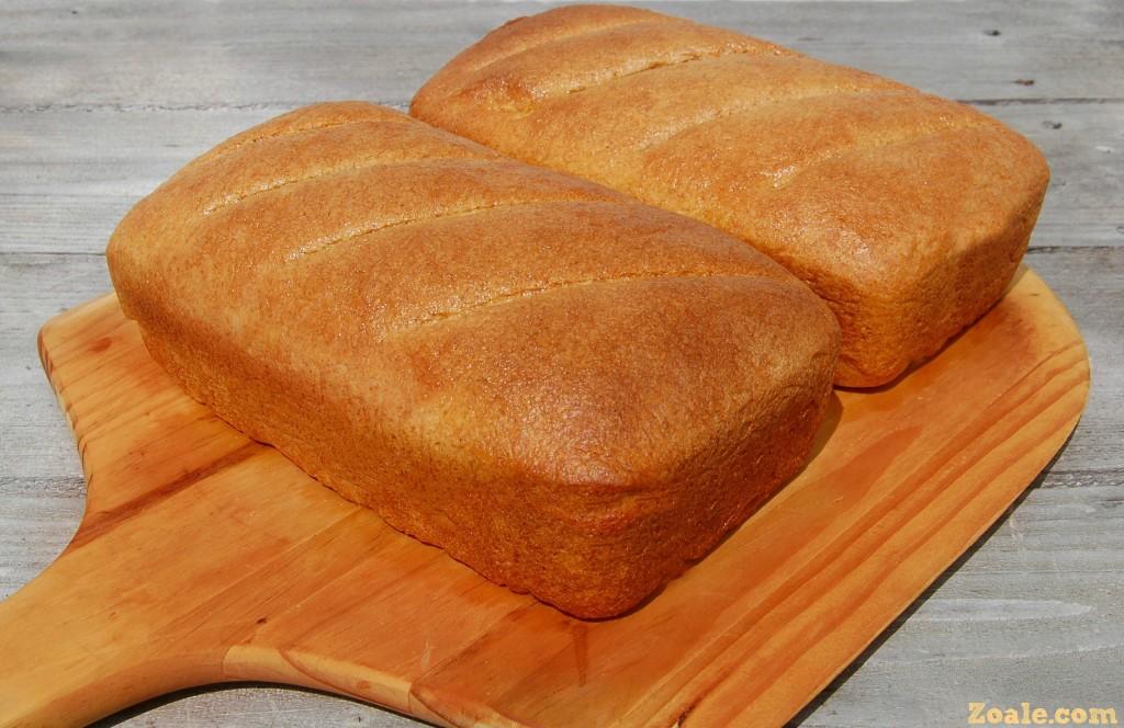 Honey Wheat Flaxseed Bread