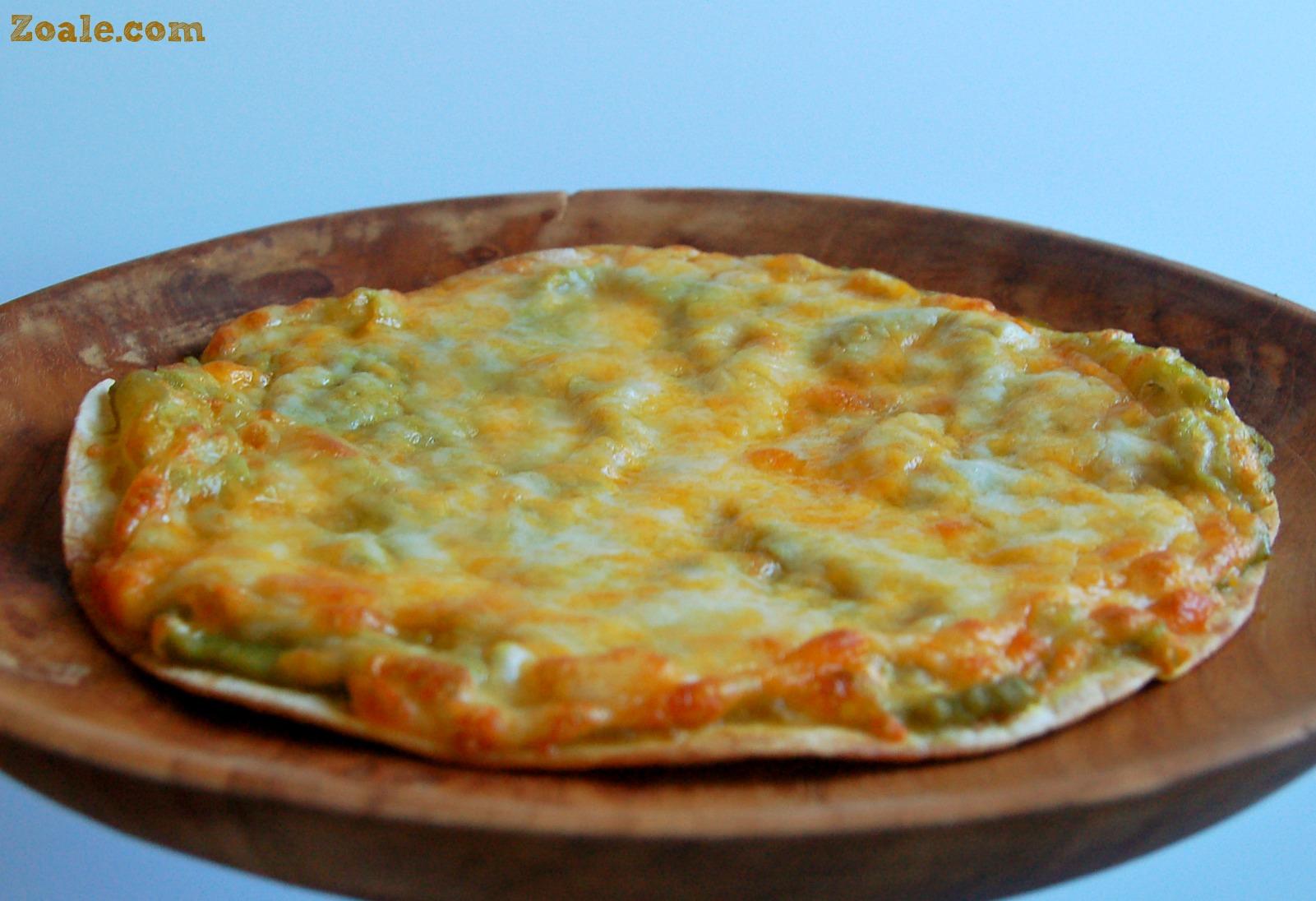 Guacamole Mexican Pizza