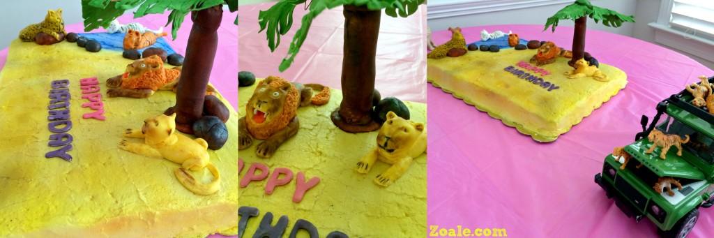 big cat cake collage1