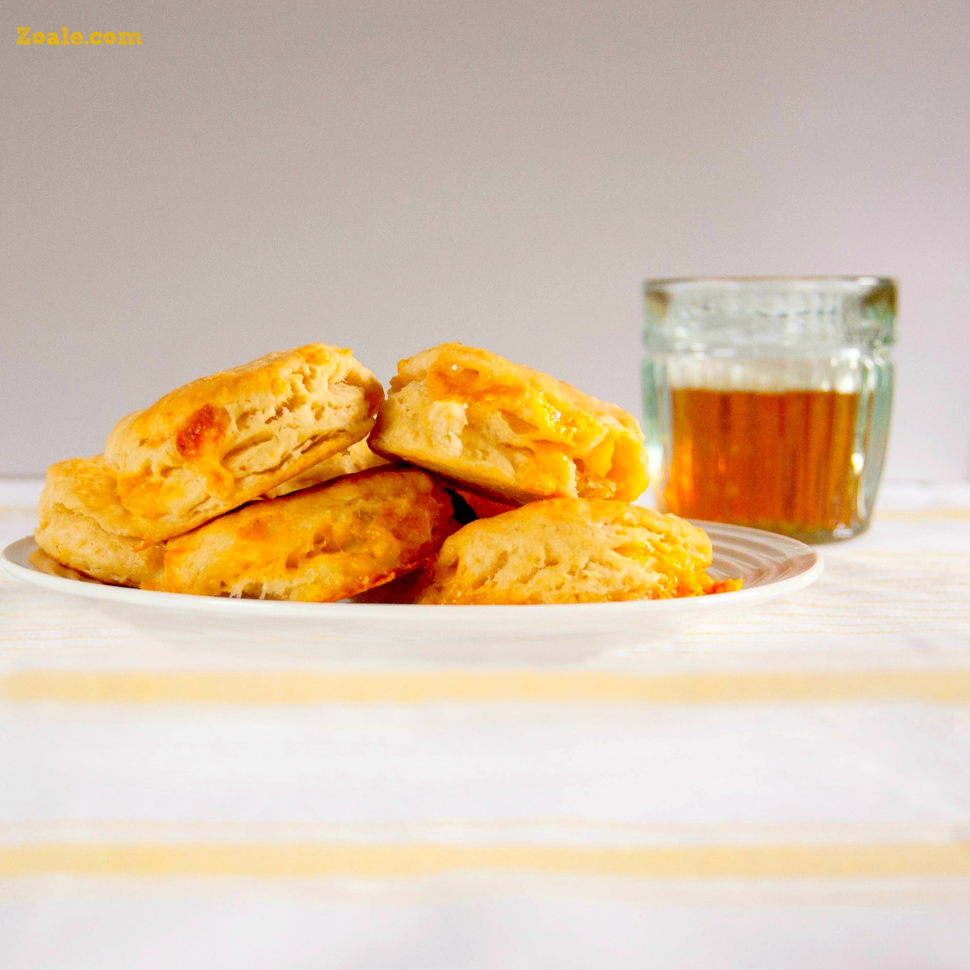 Cheesy Beer Biscuits