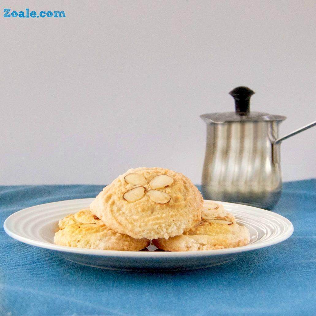 Amygdalota (Greek Almond Biscuit Cookies)