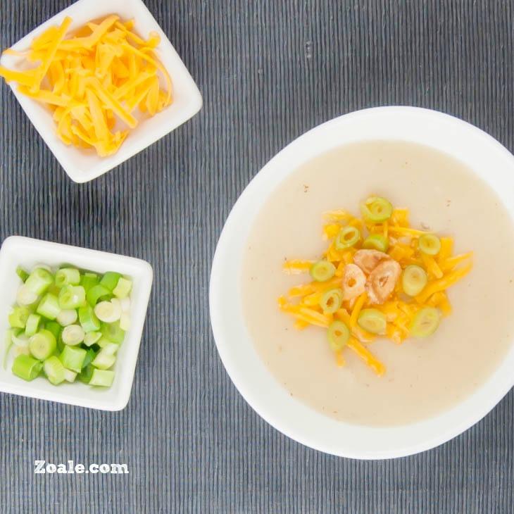 Brown Butter Potato Soup