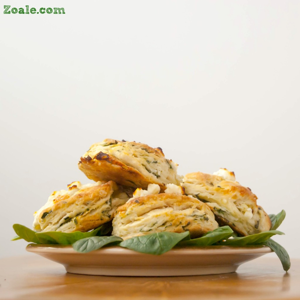 Feta and Spinach Biscuits