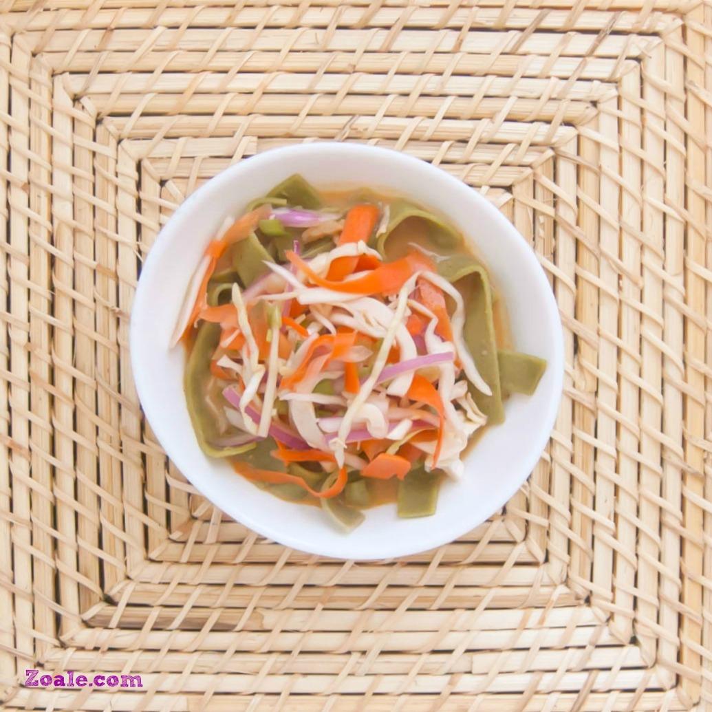 Vegetarian Khao Suey