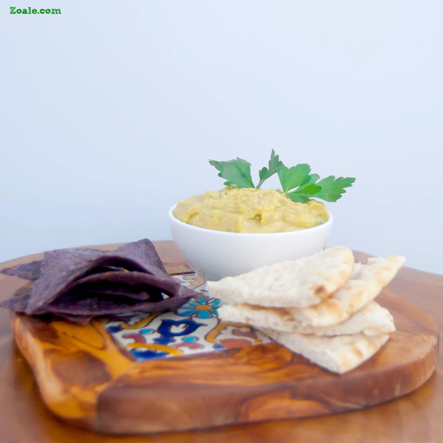 Garlic Parsley Hummus