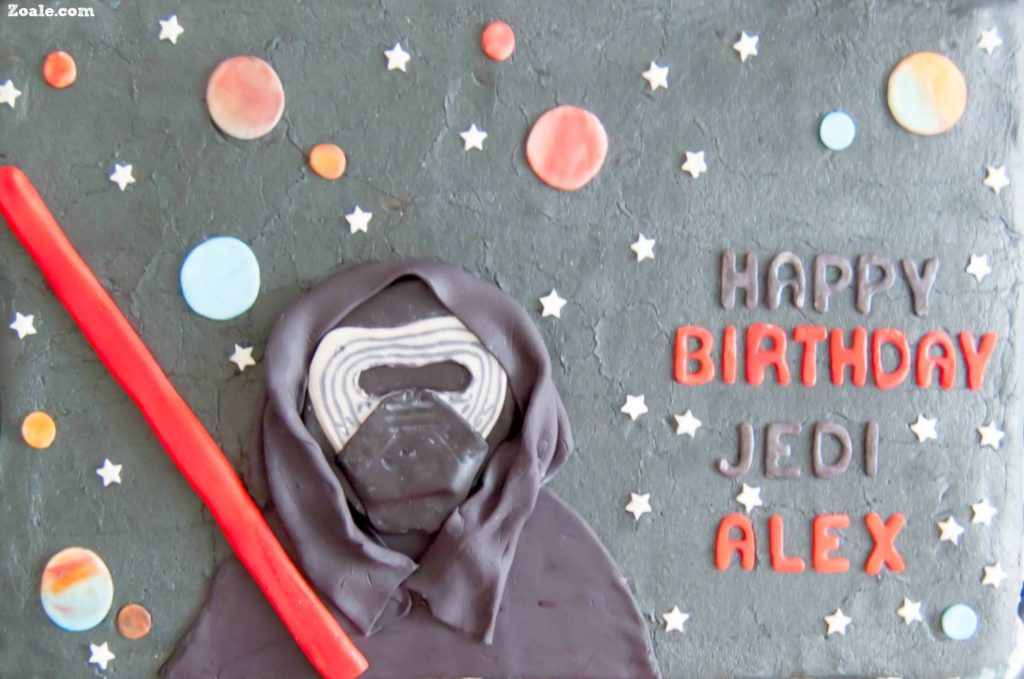 Kylo Ren Birthday Cake