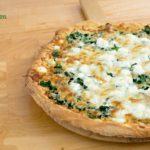 Spinach and Feta Cheese Pizza
